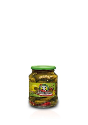 SPICY GHERKINS BUENCAMPO 370ML