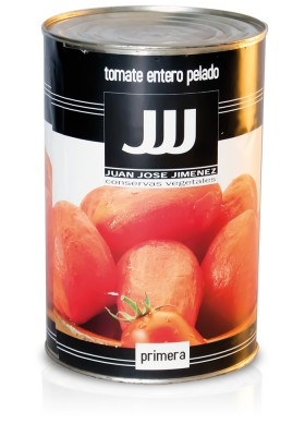 TOMATE ENTERO PELADO (NATURAL) 5 KG