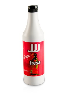 Strawberry syrup Bottle 1,2 KG