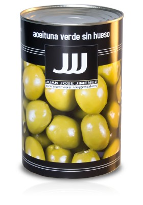 PITTED GREEN OLIVE 280/320 5KG