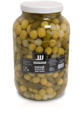 Coctail pickles in vinegar ANCHOVY TASTE galon