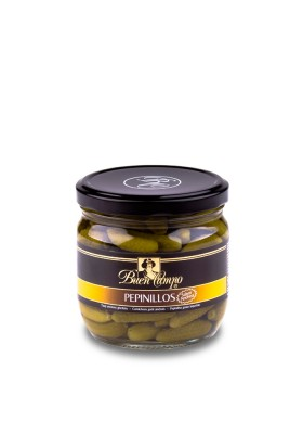 GHERKINS IN VINEGAR 200/400 BUENCAMPO 370