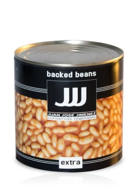 ALUBIAS CON TOMATE (BAKED BEANS) 3 KG
