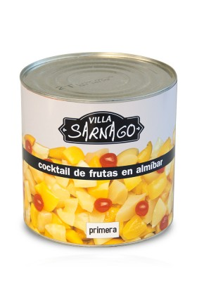 Cocktail de fruits au Sirop 3 KG