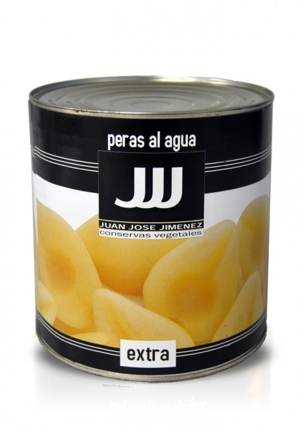 Pears in syrup 3KG