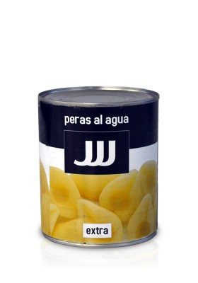 PEARS IN WATER 1KG F/A