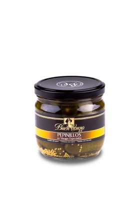 SPICY GHERKINS 120/140  BUENCAMPO 370