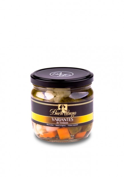 MIXED PICKLED VEGETABLES  BUENCAMPO 370