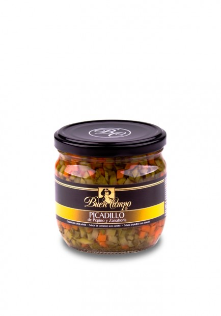 CHOPPED PICKLES BUENCAMPO 370